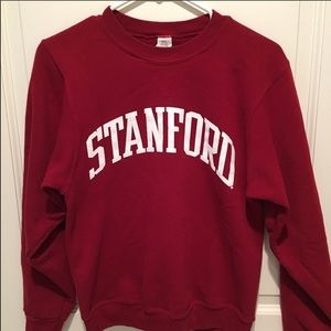 Stanford champion maroon sweater